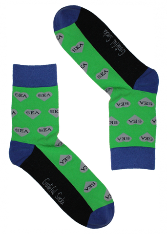 Seattle Heart Sock