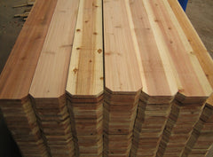 "5/8"" x 6"" Japanese Cedar Dog Ear Pickets"