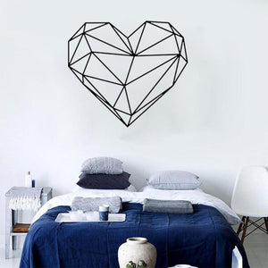 Muursticker Geometrisch hart - Decolovers