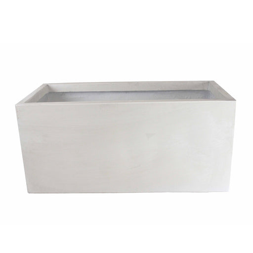GardenLite Trough White 80x37x37cm