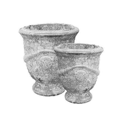 Seafoam French Urn Grey SET2