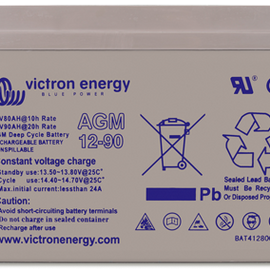 Victron Gel and AGM batteries
