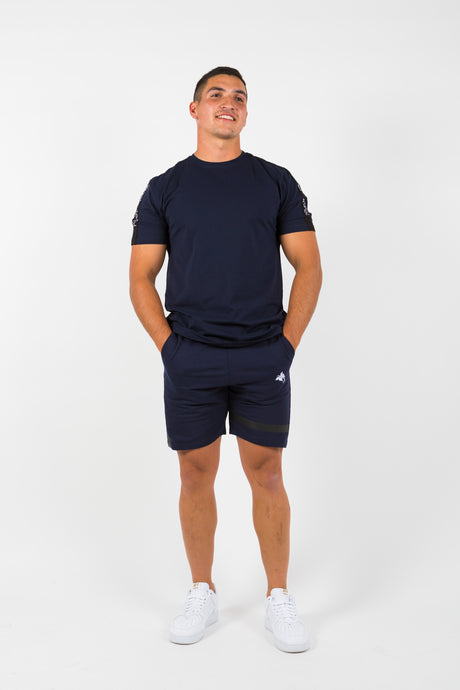 Thank Me Later Shorts - Navy Blue