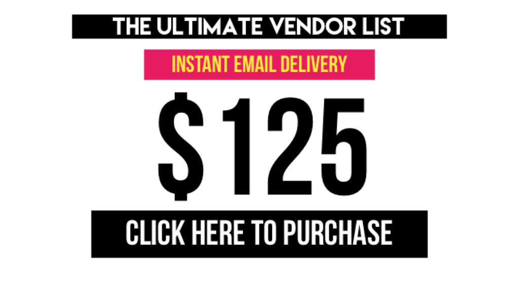 The Ultimate Vendor List
