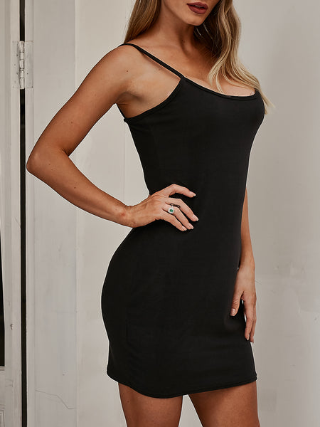 Slim-Fit Strap Dress