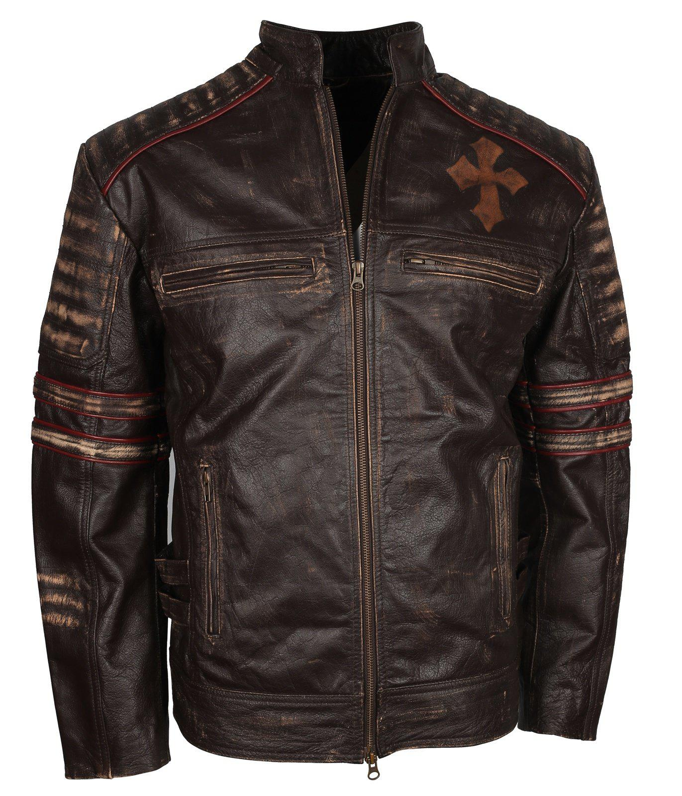 Vintage Leather Jacket - Live to Ride