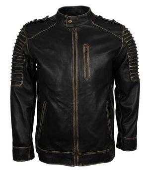 Black Leather Motorrad Top 2020 Jacket