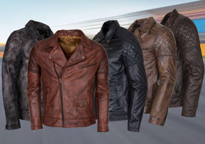 Leather Motorcycle Biker Brando Jackets