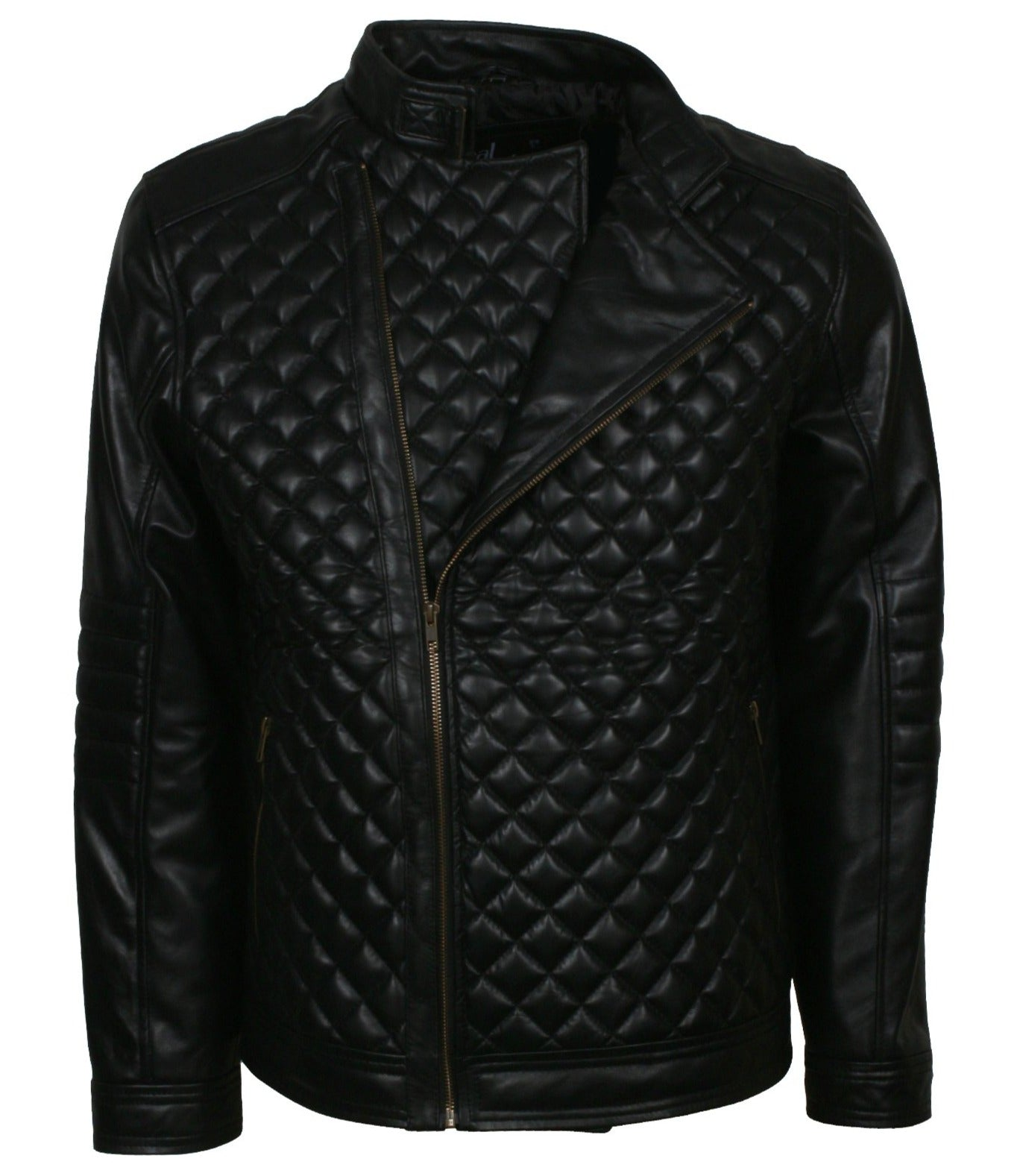 Diamond Quilted Full Zip Jacket