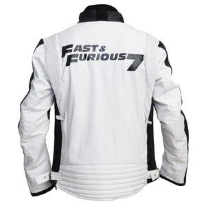 Fast and Furious 7 Vin Diesel Dominic Toretto  Rider Mens motorcycle Leather Jacket