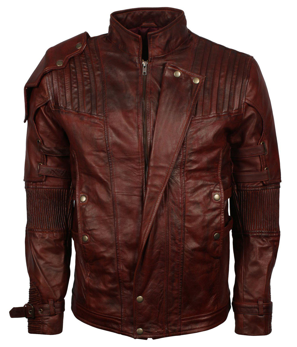 Star Lord Infinity Leather Jacket