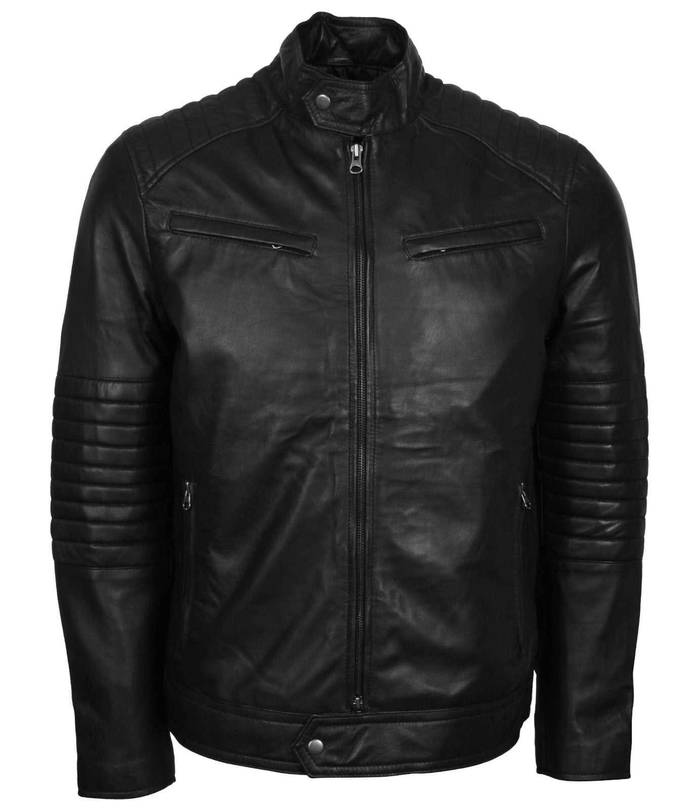 Road Rebel Skull with Wings Leather Jacket