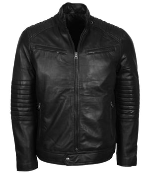 Road Rebel Skull Leather Jacket Men
