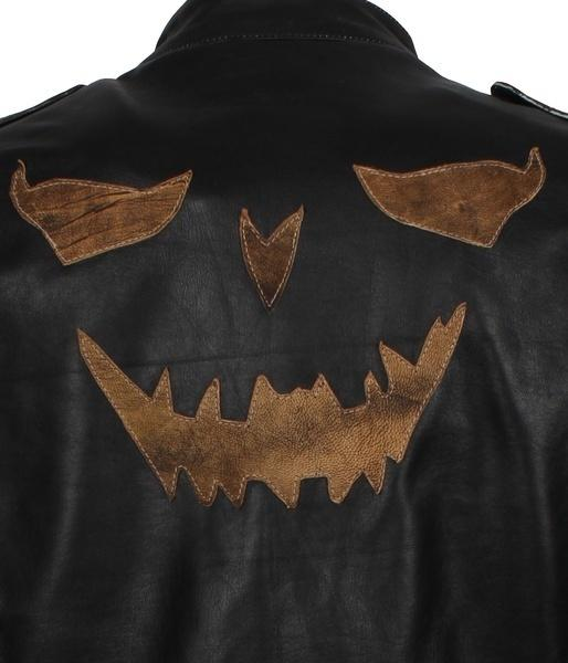 Scarecrow The Killing Joke Batman Leather Jacket