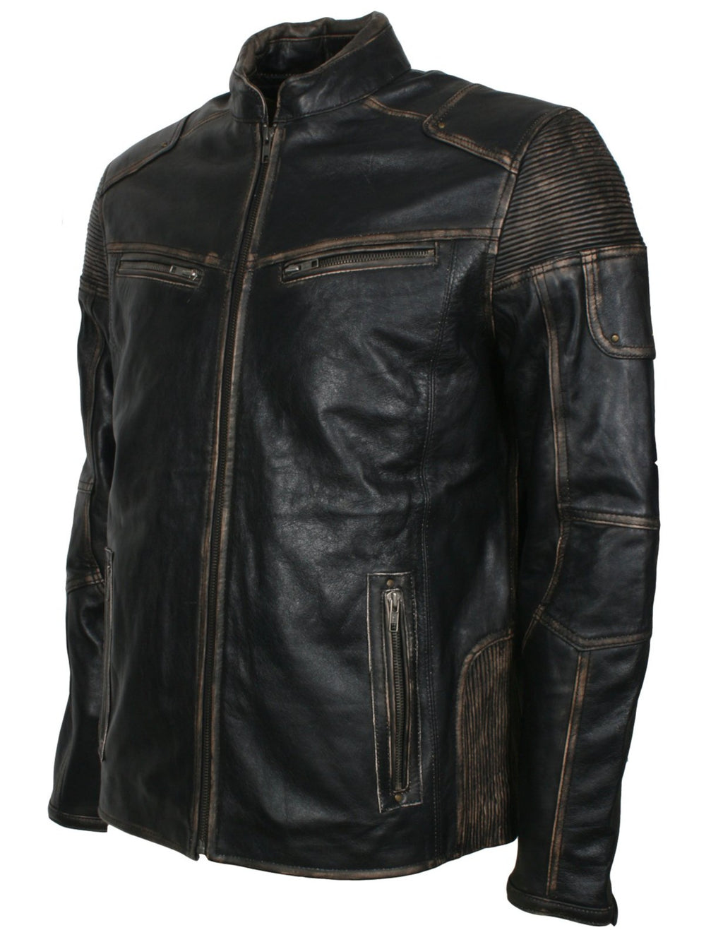 Black Leather Jacket New Look