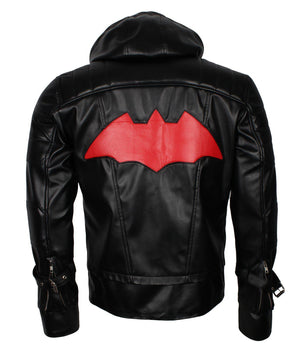 Hooded Batman Beyond Jacket Arkham Knight
