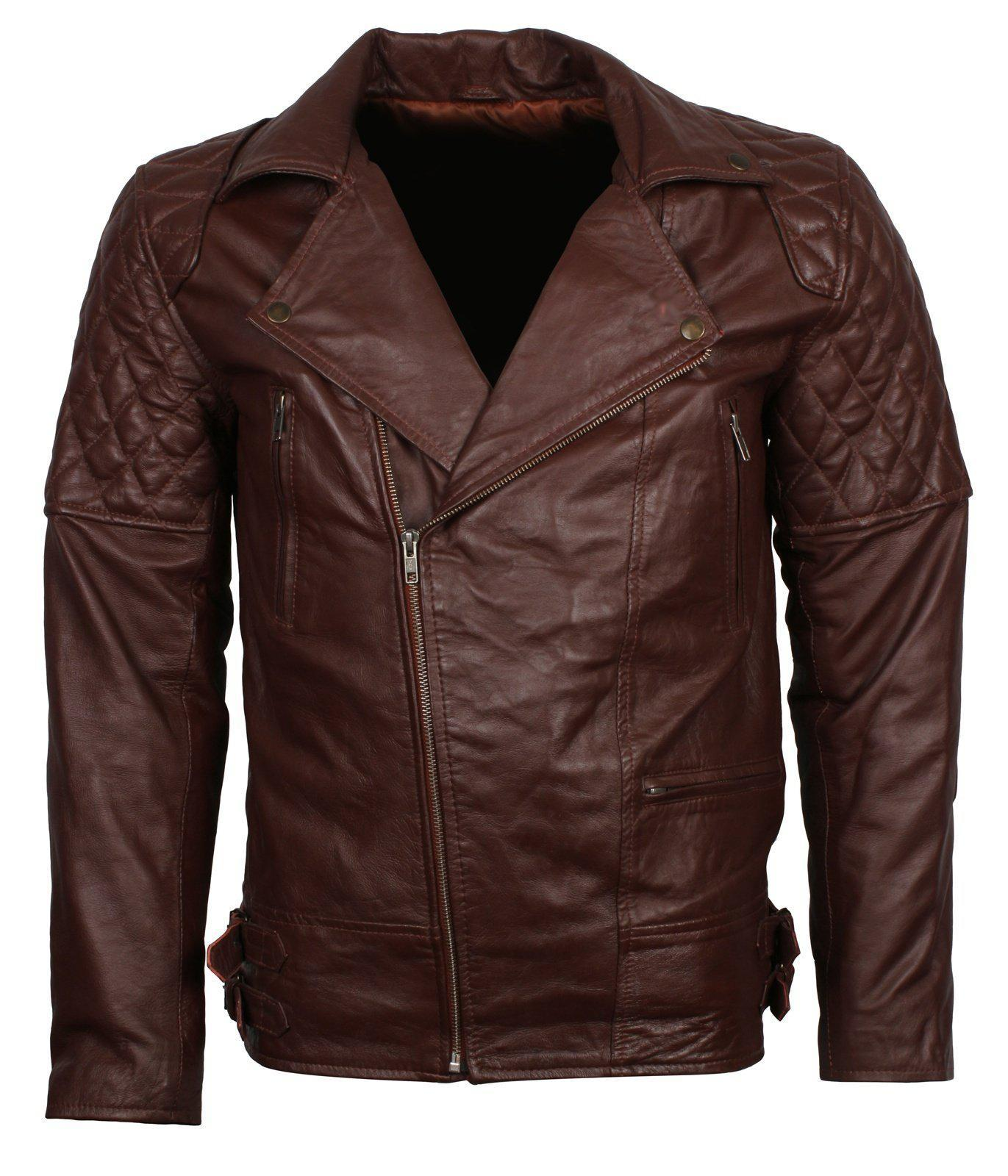 Dark Brown Brando motorcycle jacket
