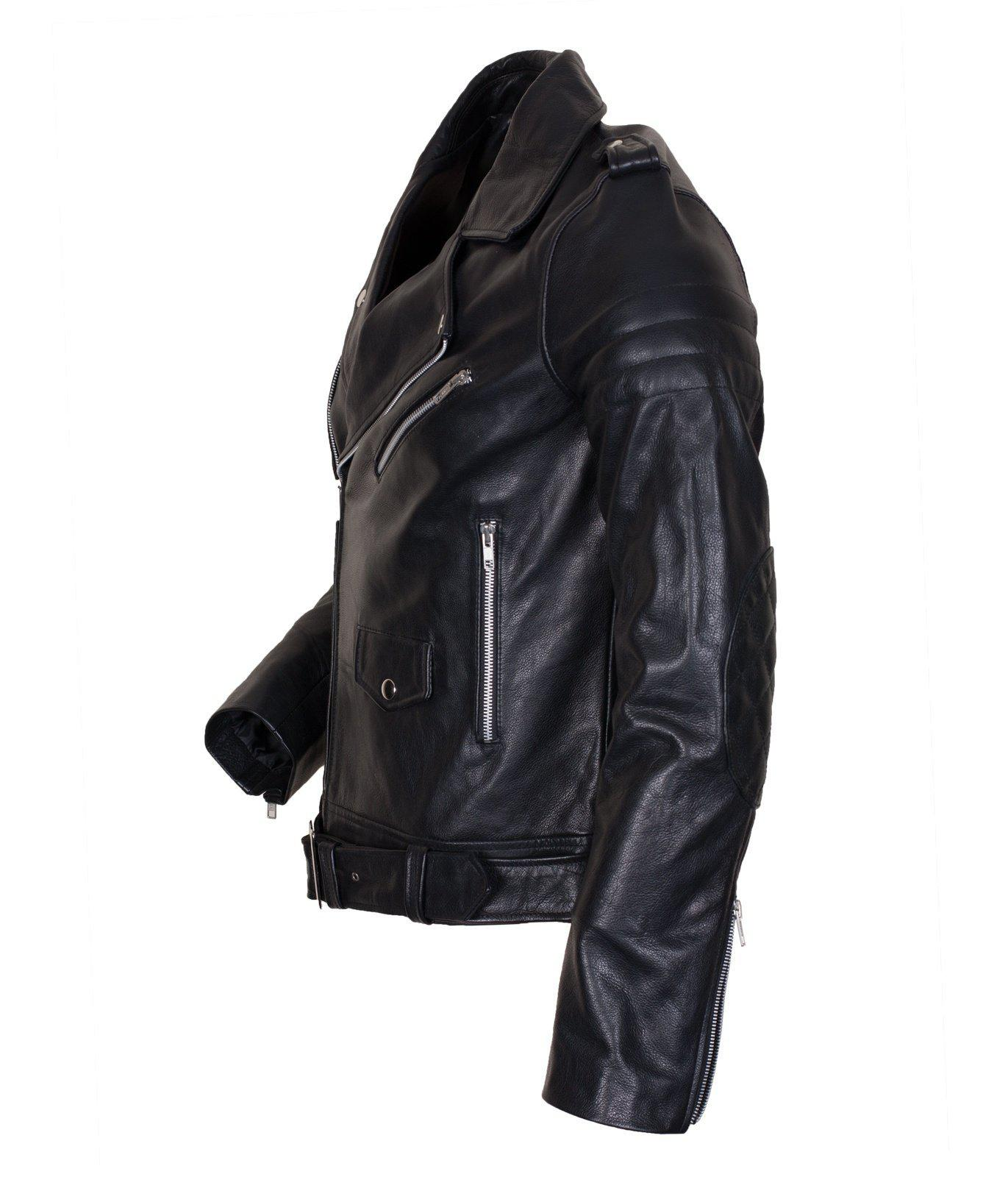 Brando Leather Jacket in Faux