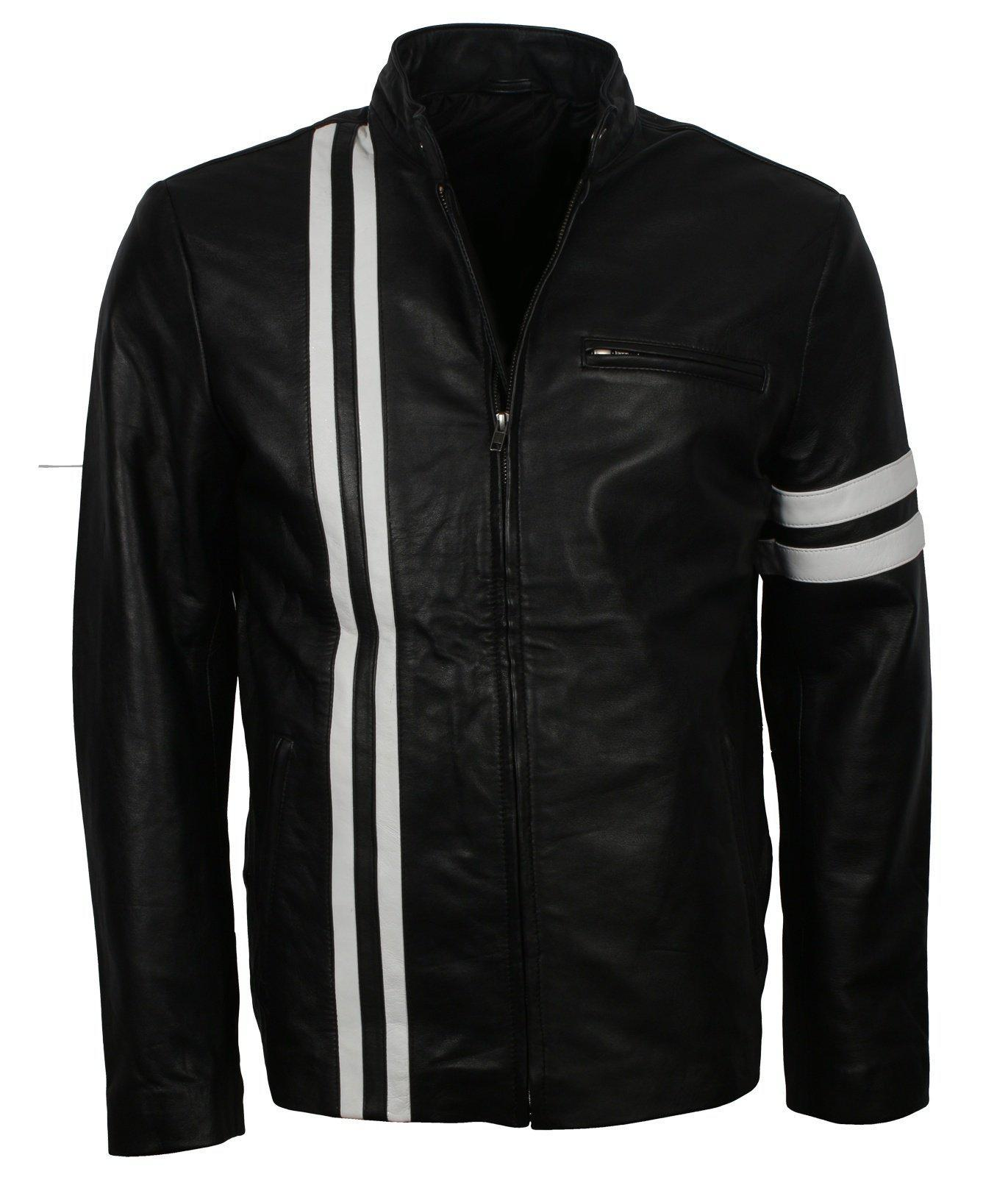 John Tanner Driver San Francisco Leather Jacket