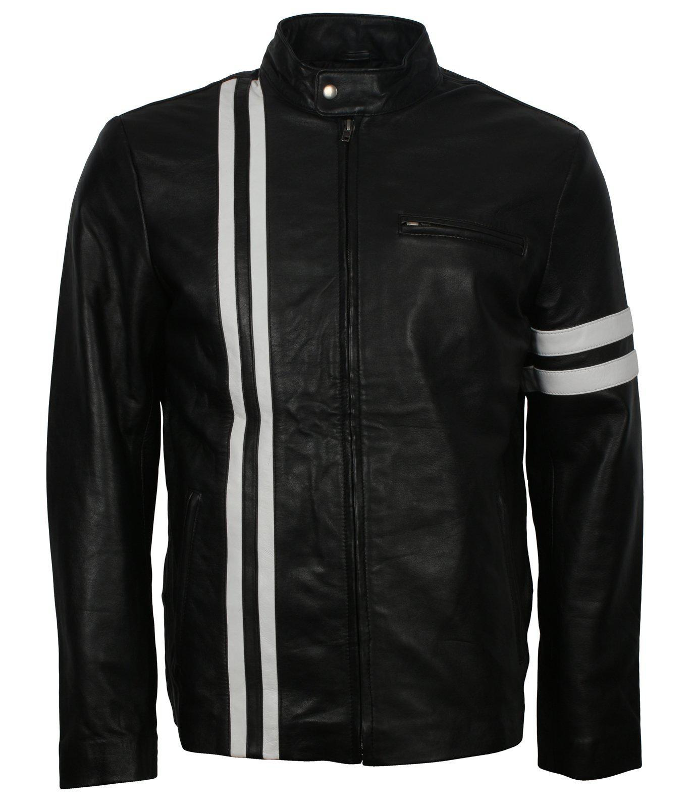 Diver San Francisco John Tanner SF Leather Jacket