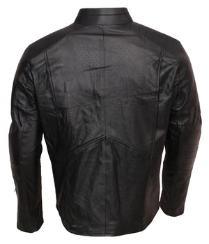 Black Superman Smallville Leather Jacket