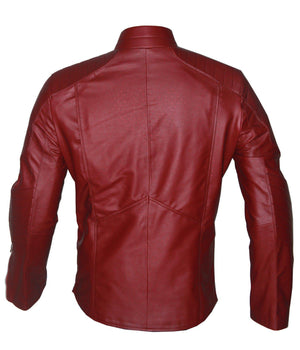 Red Superman Smallville Leather Jacket