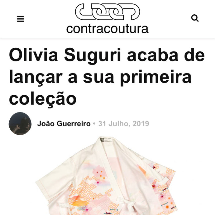 I got featured in contracoutura.pt!