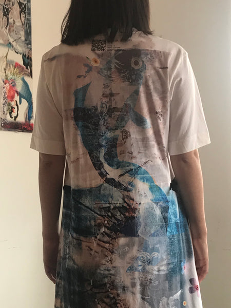 Collection 2 - t-shirt dress (back)