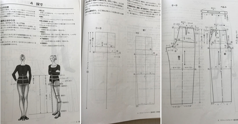 From Bunka Fashion College - Skirts and Pants textbook