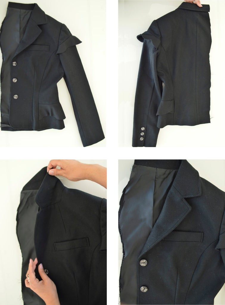 Tailored jacket, Bunka fashion College 2009