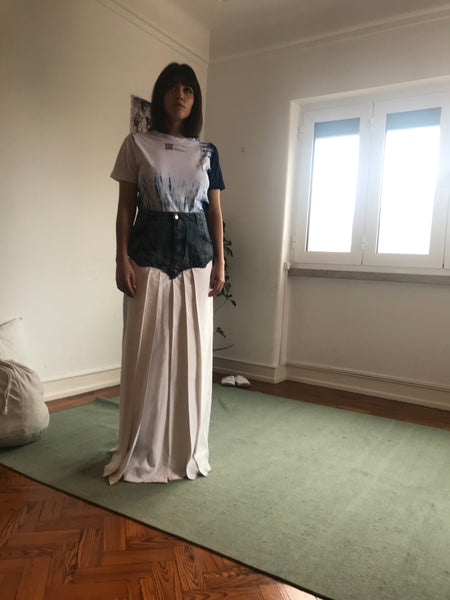Collection 2 - hakama and indigo dyed t-shirt