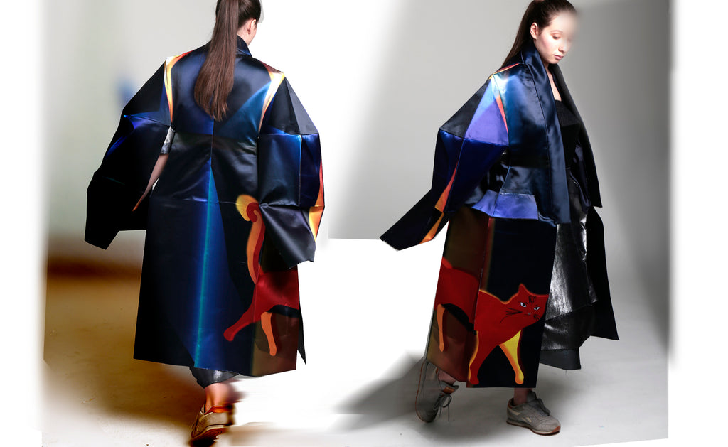 Final Fantasy project - highly constructed kimono