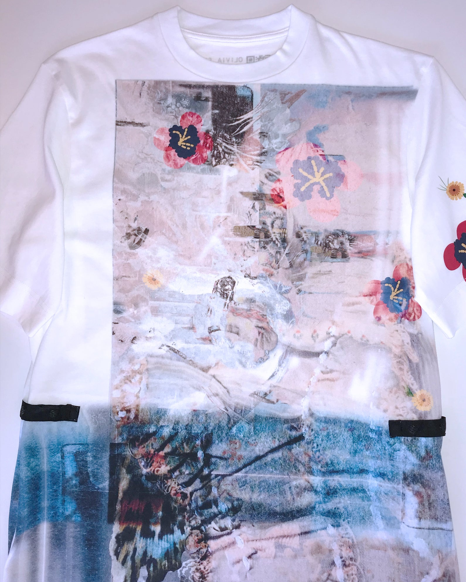 The Koi t-shirt dress