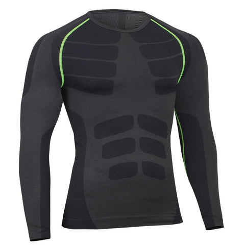 Man Workout Fitness Sports  Running Yoga Athletic Shirt Top Blouse