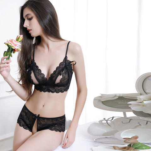 Women Sexy Lingerie Chest A File Open Underwear