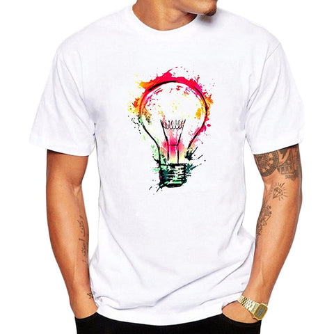Summer New Fashion Male Pattern Short Sleeve T shirt