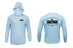 Hooked On Tail Hooded Longsleeve
