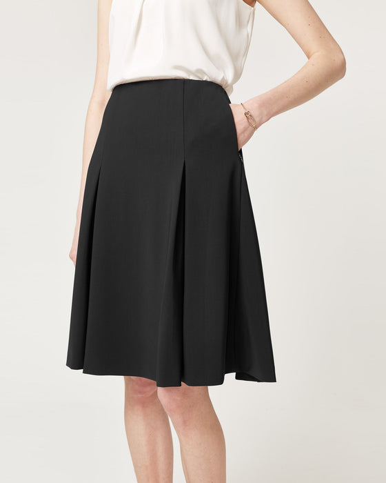 Step To It Skirt Black