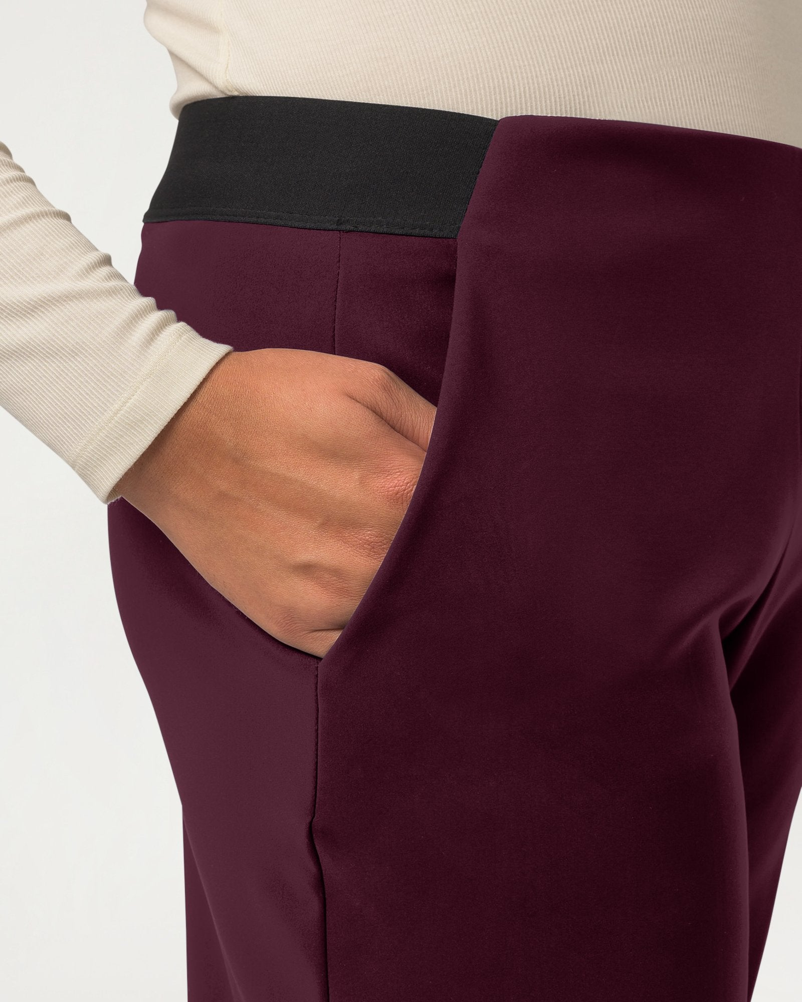 Cream of the Crop Pant Plum