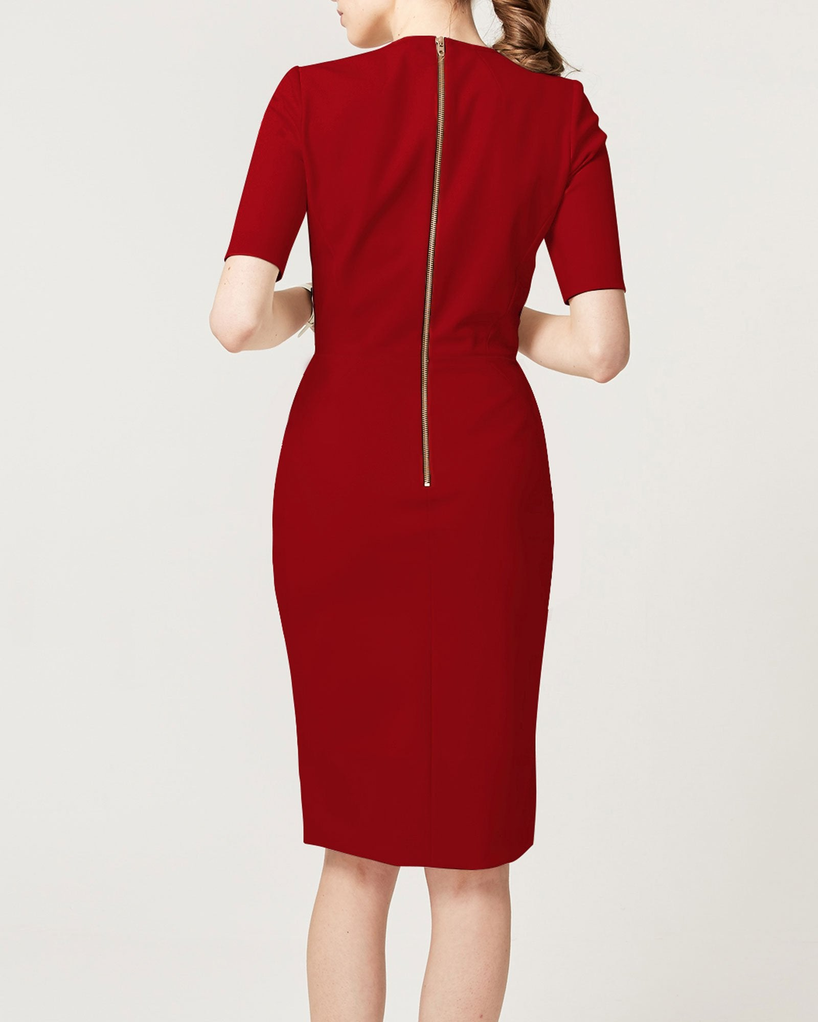 Fundamental Dress Crimson