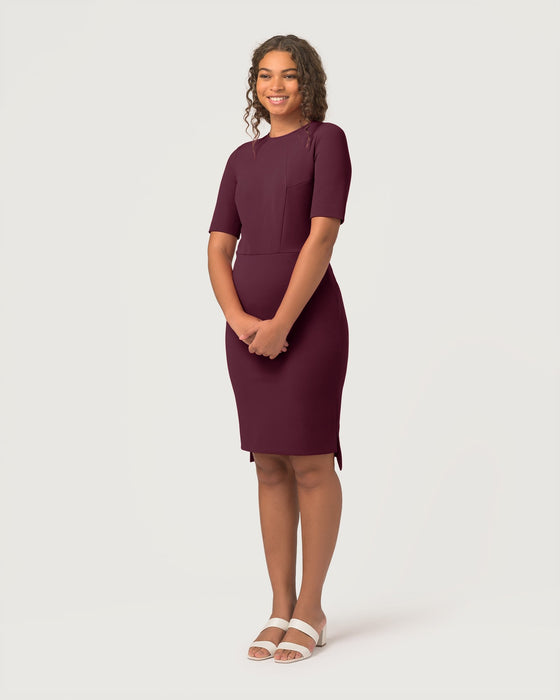 Fundamental Dress Plum