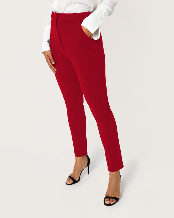 High Power Move Pant Crimson