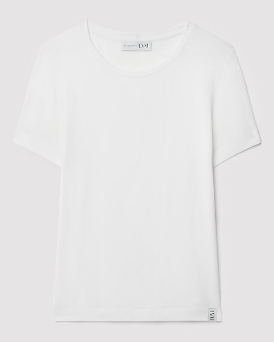 Low Key Eco Tee White
