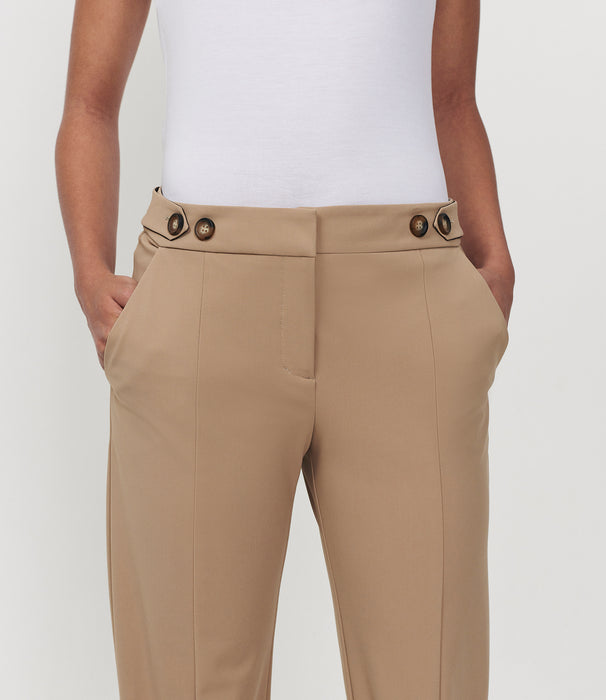 Pegged For Success Pant Latte
