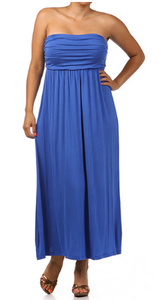 Tube Top Maxi Dress