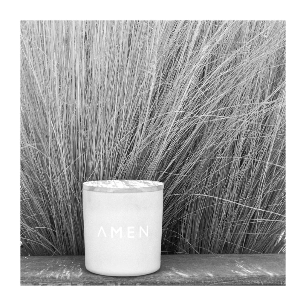 AMEN vegan sustainable candles made in France Vetiver essence