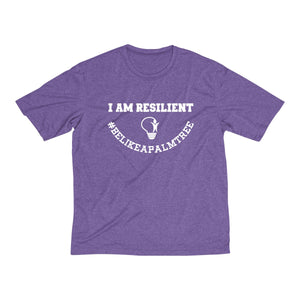 I Am Resilient Heather Dri-Fit Tee
