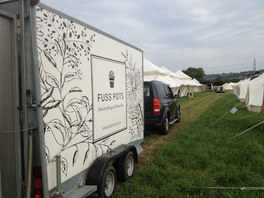 Fuss Pots at Glastonbury