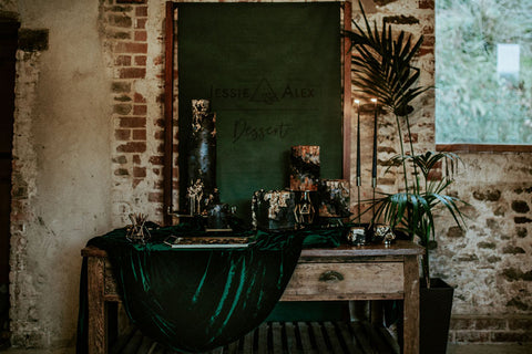 Dark Green Wedding Theme