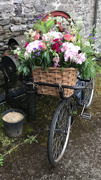 Wedding Bike flowers